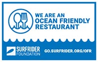 Surf Rider Foundation Ocean Friendly Restaurant